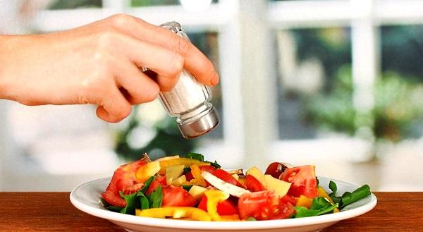 Влияние соли на наш организм.