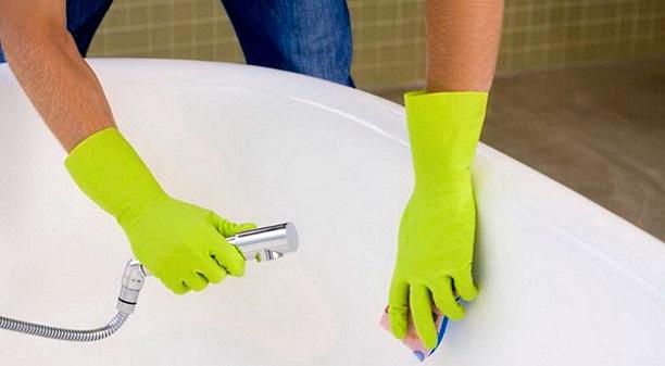 Как почистить ванну в домашних условиях