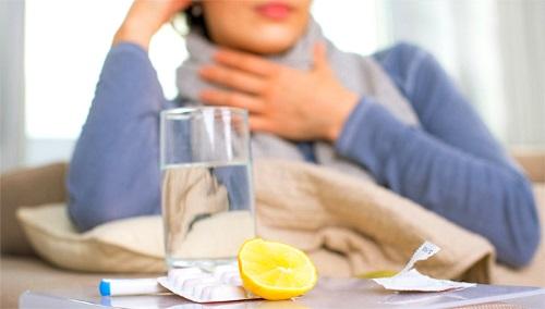 лимонная кислота для полоскания горла
