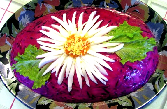 Салат селедка под шубой рецепт с фото пошагово оригинальное оформление