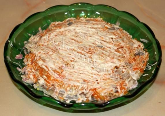 морковка для селедки под шубой