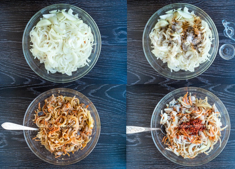 селедка в маринаде по корейски