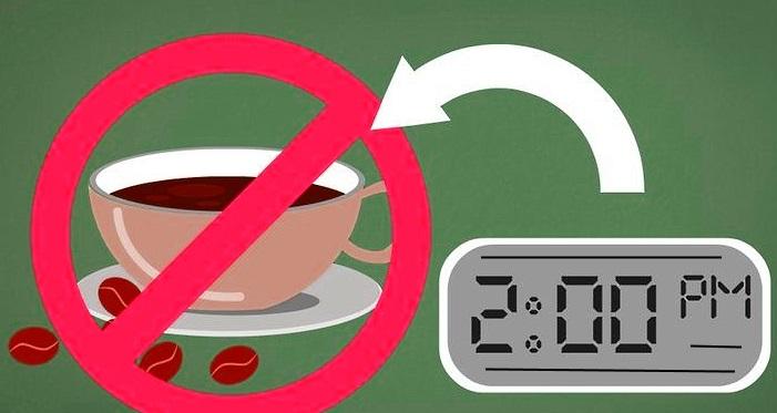 Избегайте кофеина во второй половине дня