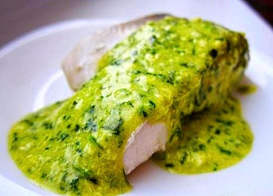 рыба под польским соусом
