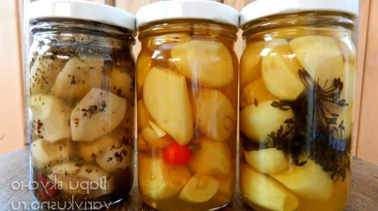 маринованный чеснок рецепт быстрого приготовления в домашних условиях
