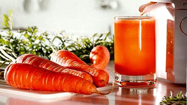 морковный сок от изжоги у ждущих потомства